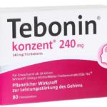 Tebonin konzent 240 mg