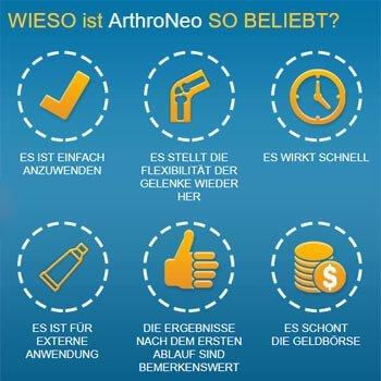 ArthroNEO - Befreie Dich endlich von Gelenkschmerzen